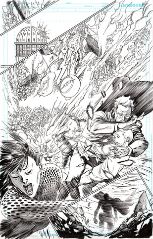 Guillem March Original Art Batman #64 Page 10