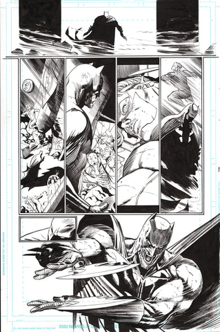 Guillem March Original Art Batman #64 Page 13