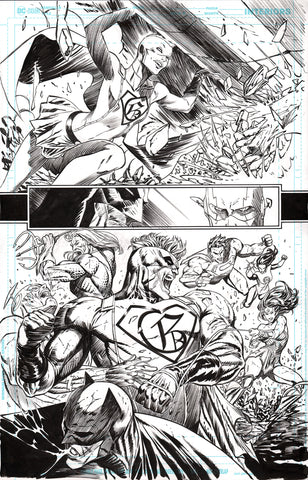 Guillem March Original Art Batman #64 Page 18
