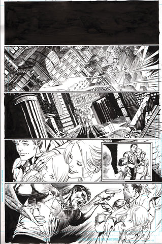 Guillem March Original Art Batman #65 Page 1