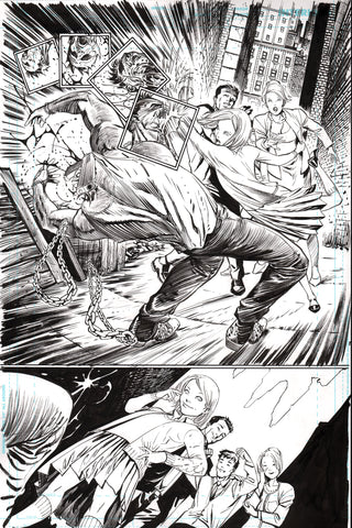 Guillem March Original Art Batman #65 Page 2