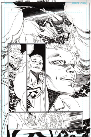 Guillem March Original Art Batman #65 Page 3