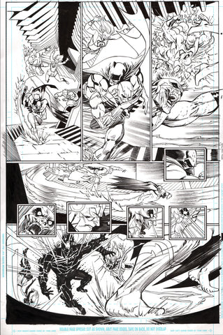 Guillem March Original Art Batman #65 Page 7