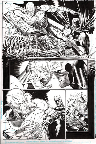 Guillem March Original Art Batman #65 Page 8