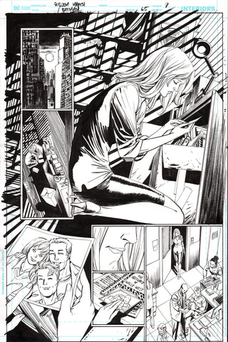 Guillem March Original Art Batman #65 Page 9