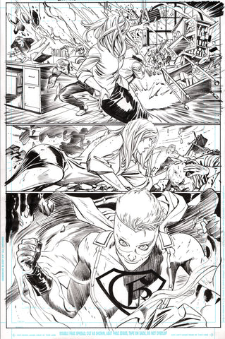 Guillem March Original Art Batman #65 Page 10
