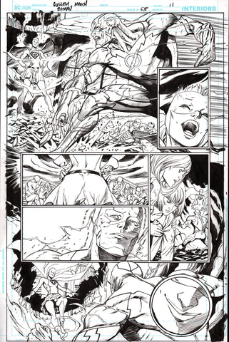 Guillem March Original Art Batman #65 Page 11