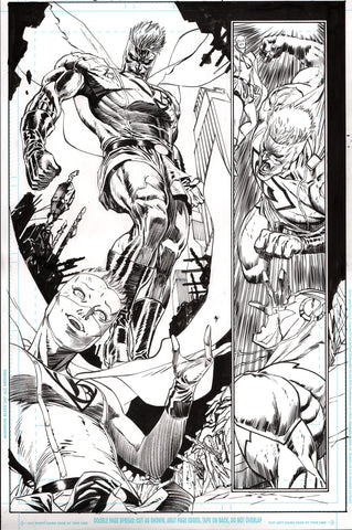 Guillem March Original Art Batman #65 Page 12