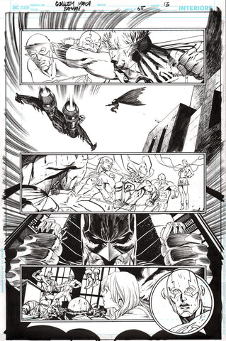 Guillem March Original Art Batman #65 Page 13