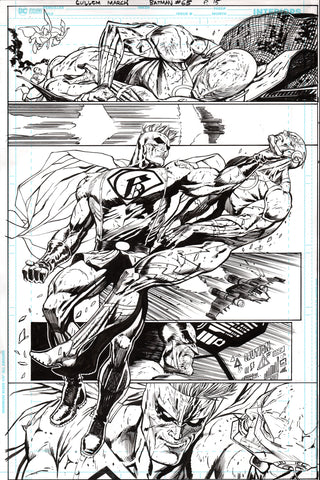 Guillem March Original Art Batman #65 Page 15