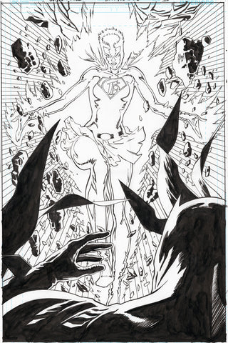 Guillem March Original Art Batman #65 Page 20