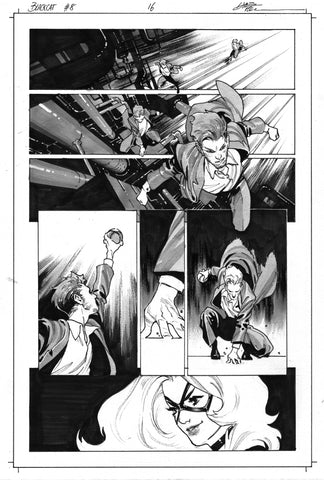 Dike Ruan Original Art Black Cat #8 Page 16