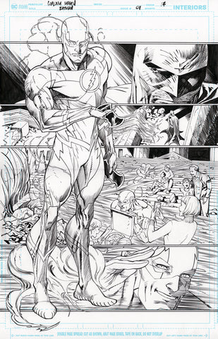 Guillem March Original Art Batman #64 Page 14
