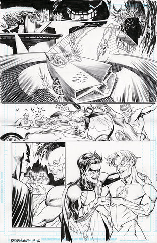 Guillem March Original Art Batman #64 Page 16