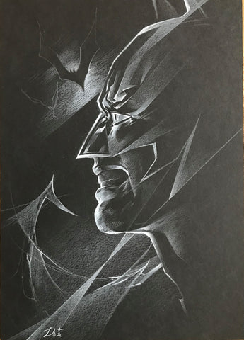 Stephanie Lavaud Original Art Batman Illustration