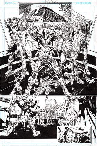 Guillem March Original Art Batman #87 Page 6