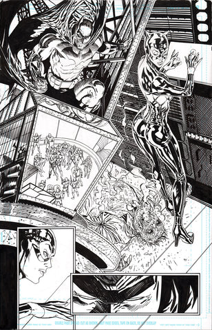 Guillem March Original Art Batman #87 Page 7
