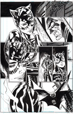 Guillem March Original Art Batman #87 Page 8