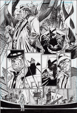 Guillem March Original Art Batman #87 Page 9