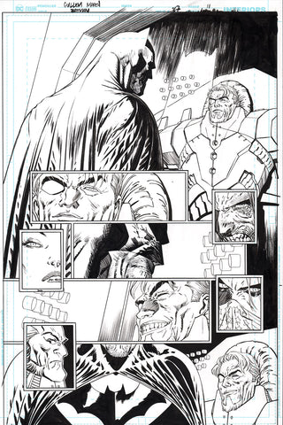 Guillem March Original Art Batman #87 Page 11