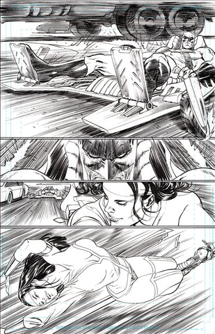 Guillem March Original Art Batman #87 Page 16