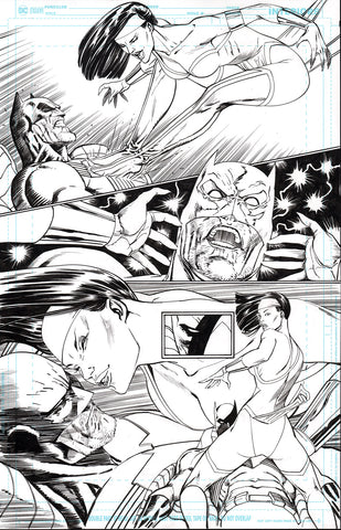 Guillem March Original Art Batman #87 Page 17