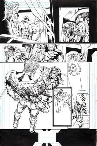 Guillem March Original Art Batman #87 Page 19
