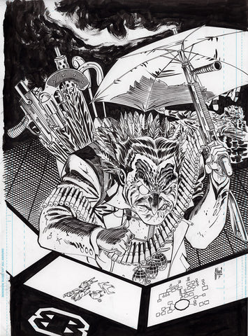 Guillem March Original Art Batman #87 Page 20