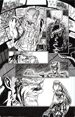 Guillem March Original Art Batman #88 Page 2