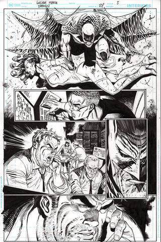 Guillem March Original Art Batman #88 Page 5