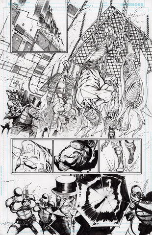 Guillem March Original Art Batman #88 Page 11