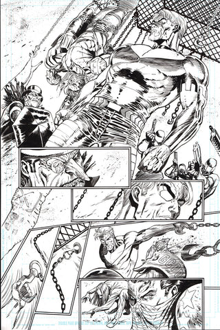 Guillem March Original Art Batman #88 Page 12