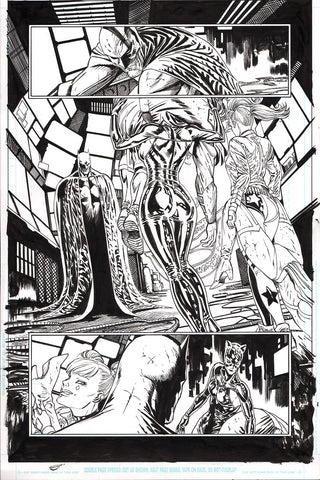 Guillem March Original Art Batman #89 Page 18