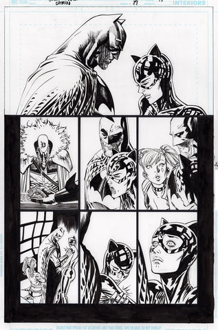 Guillem March Original Art Batman #89 Page 19