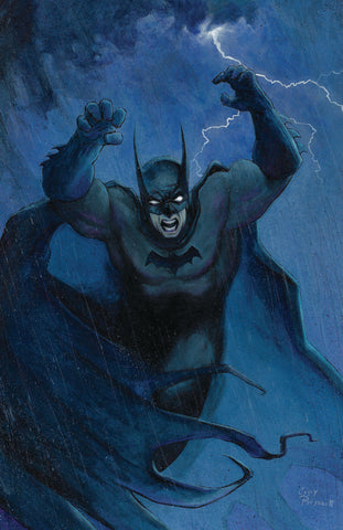 Casey Parsons Original Art Painting Batman