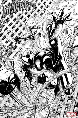 Gerardo Sandoval Original Art Black Cat #1 Cover