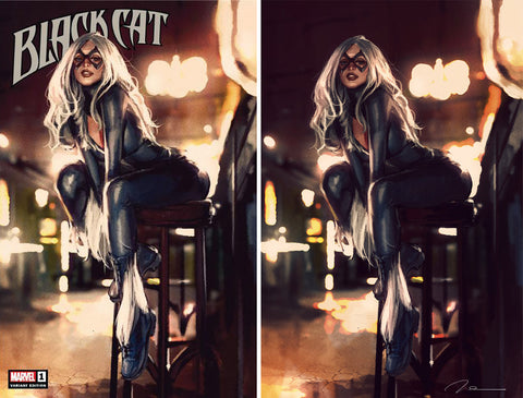Black Cat #1 Exclusive Cover Set by Gerald Parel