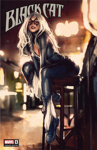 Black Cat #1 Exclusive Trade Dress Cover by Gerald Parel