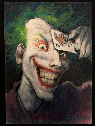 Joker 'Rogues Collection' by Casey Parsons Sketchcard
