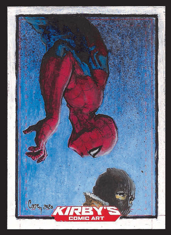 Spider-Man by Casey Parsons Sketchcard
