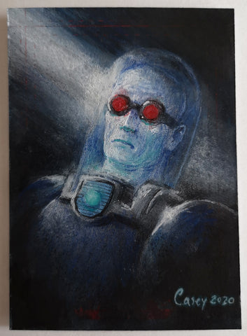 Mr Freeze 'Rogues Collection' by Casey Parsons Sketchcard
