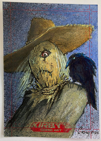 Scarecrow 'Rogues Collection' by Casey Parsons Sketchcard