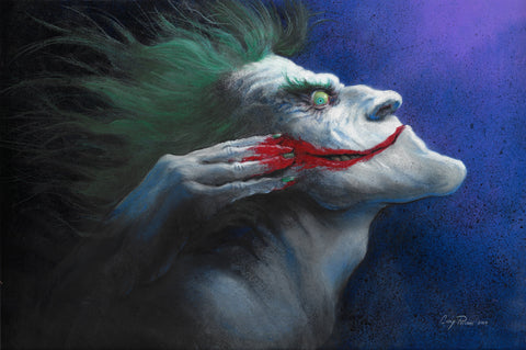 Casey Parsons Original Art Joker Smile Collection