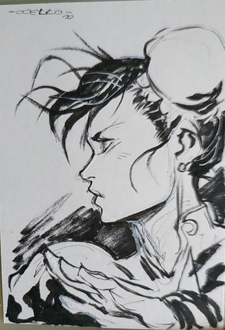 Iban Coello Original Art Chun Li Illustration