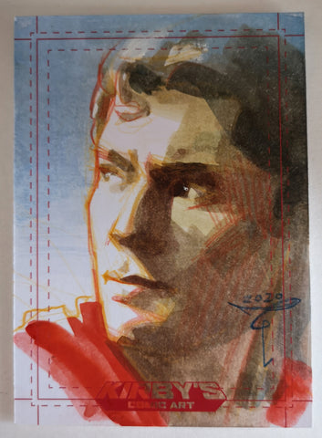 Superman 'Trinity Collection' by Clara Tessier Sketchcard