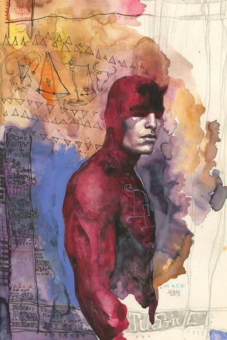 "David Mack Daredevil 12x18"" Limited Edition Giclee"
