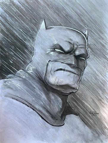 Casey Parsons Original Art DKR Batman