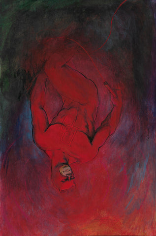 Casey Parsons Original Art Painting Daredevil