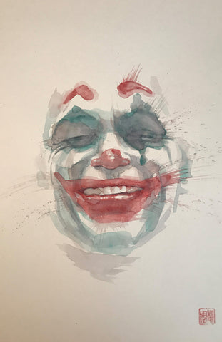 David Mack Original Art Joker Smile Collection & Cover Art