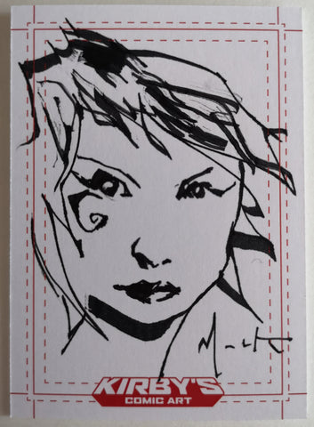Death by David Mack Sketchcard